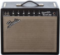 Musical Instruments:Amplifiers, PA, & Effects, 1967 Fender Princeton Reverb Black Guitar Amplifier, #A 17898....