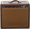 Musical Instruments:Amplifiers, PA, & Effects, 1961 Fender Princeton Brown Guitar Amplifier, #P 00712....