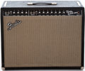Musical Instruments:Amplifiers, PA, & Effects, 1964 Fender Twin Reverb Black Guitar Amplifier, Serial #A 00656...
