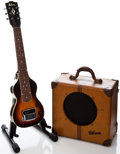 Musical Instruments:Lap Steel Guitars, 1940 Gibson EH-150 Lap Steel Guitar and Amplifier Set, # FG925-16.... (Total: 2 Items)