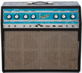 Musical Instruments:Amplifiers, PA, & Effects, 1960 Supro Big Star Black Guitar Amplifier, #D2680....