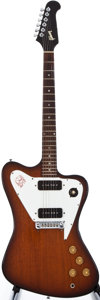 Musical Instruments:Electric Guitars, 1966 Gibson Firebird Sunburst Solid Body Electric Guitar,#800171....