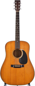 Musical Instruments:Acoustic Guitars, 1938 Martin D-18 Natural Acoustic Guitar, #70638....