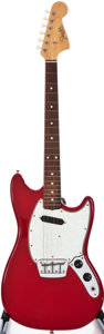 Musical Instruments:Electric Guitars, 1965 Fender Musicmaster II Dakota Red Solid Body Electric Guitar, #L65993....