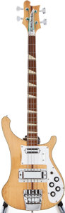 Musical Instruments:Bass Guitars, 1972 Rickenbacker 4001 Mapleglo Electric Bass Guitar, #LG660....