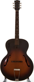 Musical Instruments:Acoustic Guitars, 1954 Gibson L-48 Sunburst Archtop Acoustic Guitar, #X9036 33....