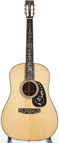 Musical Instruments:Acoustic Guitars, 1987 Martin D-45S Natural Acoustic Guitar, #472076....