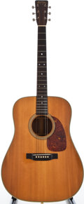 Musical Instruments:Acoustic Guitars, 1956 Martin D-28 Natural Acoustic Guitar, #151723....