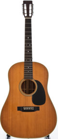 Musical Instruments:Acoustic Guitars, 1969 Martin D-28S Natural Acoustic Guitar, #248891....