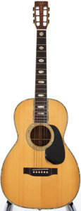 Musical Instruments:Acoustic Guitars, 1974 Martin 00-45 Natural Acoustic Guitar, #353234....