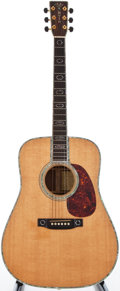 Musical Instruments:Acoustic Guitars, 1987 Martin D-45 Natural Acoustic Guitar, #470244....