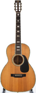 Musical Instruments:Acoustic Guitars, 1975 Martin 00-45 Natural Acoustic Guitar, #355094....