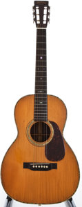 Musical Instruments:Acoustic Guitars, 1933 Martin 00-40H Natural Acoustic Guitar, #53678....