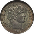 Barber Dimes: , 1903 10C MS65 NGC. NGC Census: (14/8). PCGS Population (21/11).Mintage: 19,500,756. Numismedia Wsl. Price for problem free...