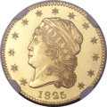 Early Quarter Eagles, 1825 $2 1/2 MS66 NGC. Breen-6128, BD-2, High R.4. ...