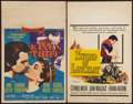 "Movie Posters:Adventure, The King's Thief and Other Lot (MGM, 1955). Window Cards (2) (14"" X22""). Adventure.. ... (Total: 2 Items)"