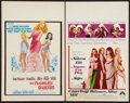 "Movie Posters:Comedy, The Pleasure Seekers and Other Lot (20th Century Fox, 1965). WindowCards (2) (14"" X 22""). Comedy.. ... (Total: 2 Items)"