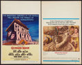 "Movie Posters:Adventure, Genghis Khan and Other Lot (Columbia, 1965). Window Cards (2) (14""X 22""). Adventure.. ... (Total: 2 Items)"