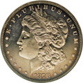 Proof Morgan Dollars: , 1878 7TF $1 Reverse of 1878 PR64 Cameo NGC. Ex: BRS LegacyCollection. Only 200 proofs were s...