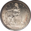 Patterns: , 1859 P50C Half Dollar, Judd-235, Pollock-282, 284, R.5, PR63 PCGS. The obverse depicts Anthony Paquet's design with a seate...