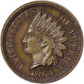 1864 1C Indian Cent, Judd-356a, Pollock-427, Low R.6, PR65 Brown NGC. The regular issue designs for the 1864 Indian cent...