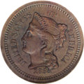 1868 1C Coronet Cent, Judd-606, Pollock-671, Low R.7, PR62 Brown NGC. On the obverse, Liberty is wearing a coronet inscr...