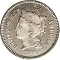 1868 1C Coronet Cent, Judd-608, Pollock-673, R.4, PR65 PCGS. On the obverse, Liberty is wearing a coronet inscribed LIBE...