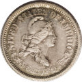 1869 10C Standard Silver Dime, Judd-696, Pollock-775, R.5, PR64 PCGS. Liberty faces right, wearing a cap with three star...