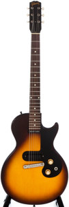 Musical Instruments:Electric Guitars, 1960 Gibson Melody Maker Sunburst Solid Body Electric Guitar, #09022....