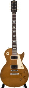 Musical Instruments:Electric Guitars, 1957 Gibson Les Paul Standard Goldtop Solid Body Electric Guitar, #7 6188....