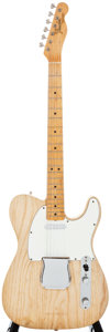Musical Instruments:Electric Guitars, 1967 Fender Telecaster Natural Solid Body Electric Guitar,#198246....