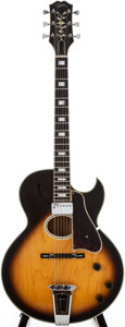 Musical Instruments:Electric Guitars, 1976 Gibson Howard Roberts Sunburst Semi-Hollow Body ElectricGuitar, #00101602....