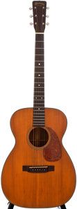 Musical Instruments:Acoustic Guitars, 1957 Martin 00-18 Natural Acoustic Guitar, #155950....