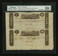 Obsoletes By State:Ohio, Cincinnati, OH- Unknown Issuer $2-$1 Uncut Pair of Post Notes. ...