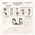Miscellaneous:Broadside, John Dillinger Wanted Poster....