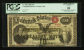 Large Size:Compound Interest Treasury Notes, Fr. 190a $10 1864 Compound Interest Treasury Note PCGS ApparentVery Fine 20.. ...