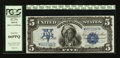 Large Size:Silver Certificates, Fr. 279 $5 1899 Silver Certificate PCGS Gem New 66PPQ.. ...