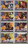 """Movie Posters:Horror, Planet of the Vampires (American International, 1965). Lobby CardSet of 8 (11"""" X 14""""). Horror.. ... (Total: 8 Items)"""