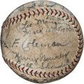 Autographs:Baseballs, 1932 Boston Braves Team Signed Baseball....