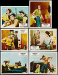 """Movie Posters:Drama, Giant (Warner Brothers, R-1970s). French Lobby Card Set of 12(9.25"""" X 11.5""""). Drama.. ... (Total: 12 Items)"""