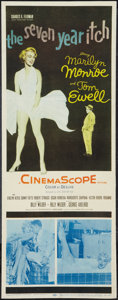 """Movie Posters:Comedy, The Seven Year Itch (20th Century Fox, 1955). Insert (14"""" X 36"""").Comedy.. ..."""