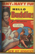Magazines:Humor, Hello Buddies Bound Volume (Fun Parade, 1943-44)....
