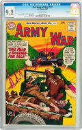 Silver Age (1956-1969):War, Our Army at War #131 Savannah pedigree (DC, 1963) CGC NM- 9.2 Off-white pages....