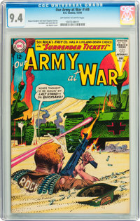 Our Army at War #149 (DC, 1964) CGC NM 9.4 Off-white to white pages
