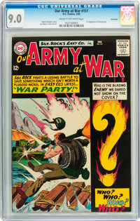 Our Army at War #151 Savannah pedigree (DC, 1965) CGC VF/NM 9.0 Cream to off-white pages