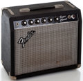 Musical Instruments:Amplifiers, PA, & Effects, Circa 1982 Fender Super Champ Guitar Amplifier, Serial Number #F203686....