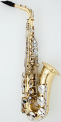 Musical Instruments:Horns & Wind Instruments, Yamaha YAS-200AD Brass Alto Saxophone, Serial Number #339654....