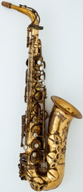 Musical Instruments:Horns & Wind Instruments, Circa 1968 Selmer Mark VI Brass Alto Saxophone, Serial Number #M156699....