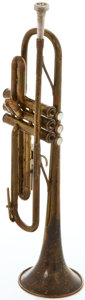 Musical Instruments:Horns & Wind Instruments, Circa 1947 Martin Committee-Model Trumpet, Serial Number#154750....