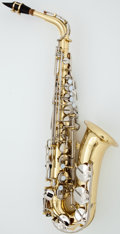 Musical Instruments:Horns & Wind Instruments, Yamaha YAS-23 Brass Alto Saxophone, Serial Number #265738 A....